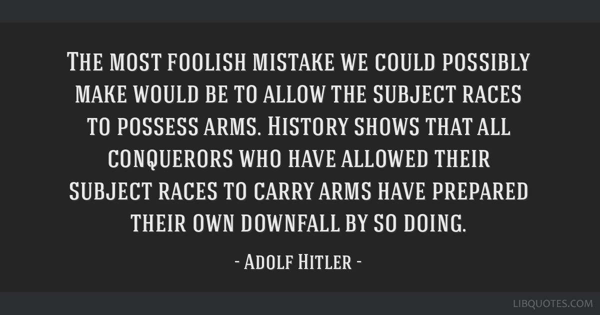 adolf hitler jews guns