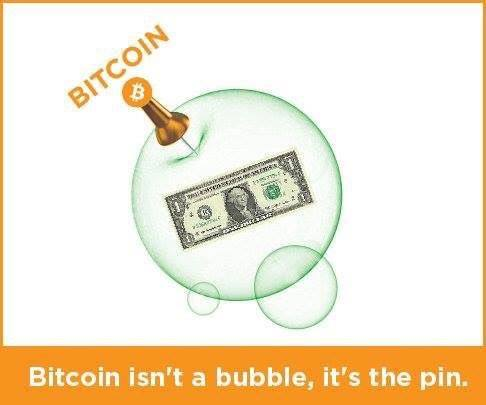 bitcoin is the pin