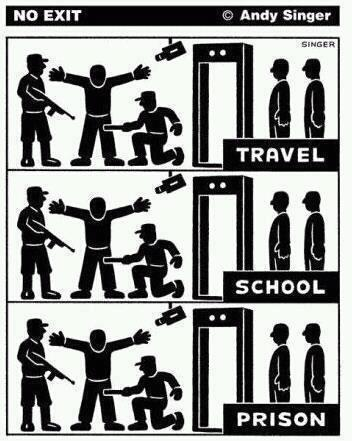 school prison travel