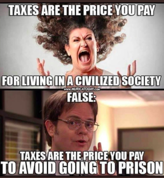 taxes price for avoiding jail