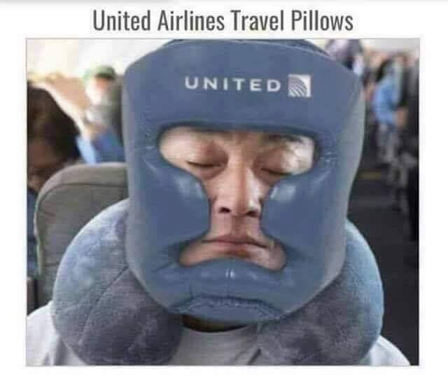united travel pillow