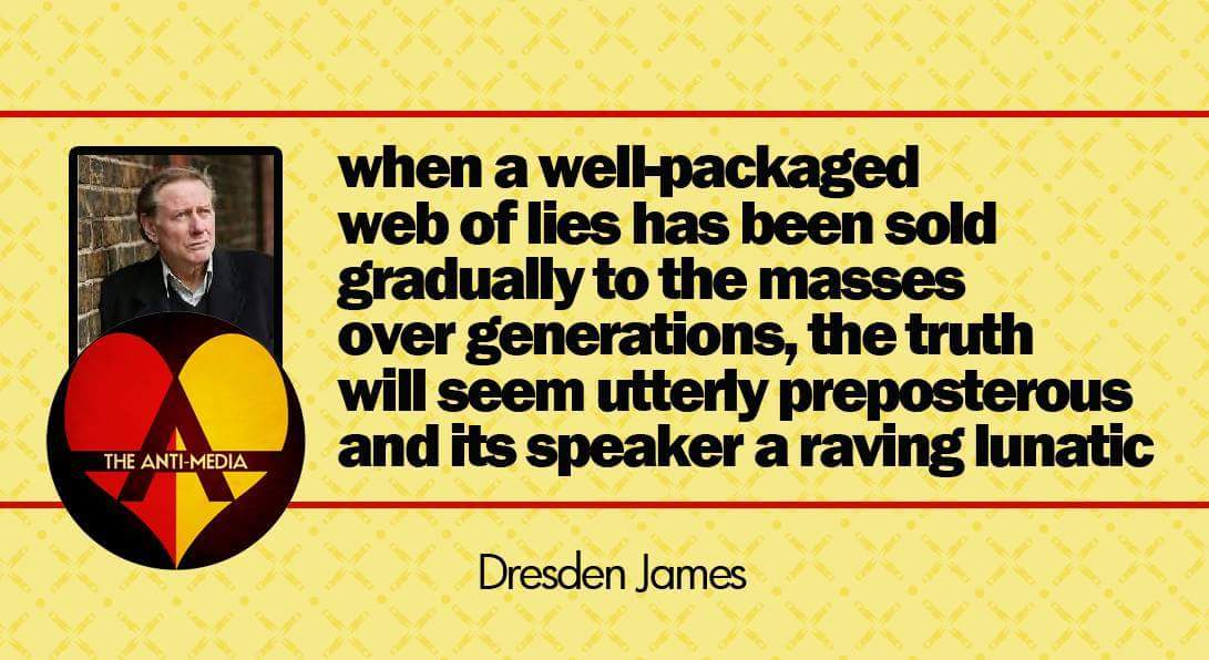 web of lies truth seem preposterous speaker a lunatic